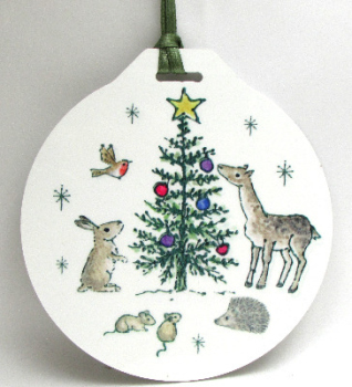 Bauble - Woodland Tree