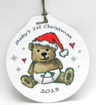 Bauble - 1st Christmas Ted
