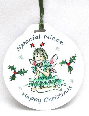 Bauble - Little Green Fairy
