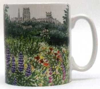 Mugs & Coasters-Durham from Crook Hall