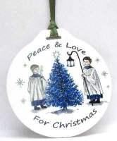 Bauble - Choir Peace & Love