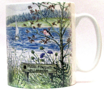 Mugs & Coasters-Boating Lake