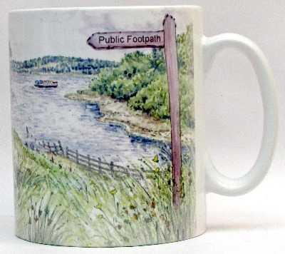 Mug-Ferry Boat