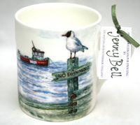 Mugs & Coasters-Beach & Boat