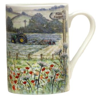 Mugs & Coasters-Hay Time
