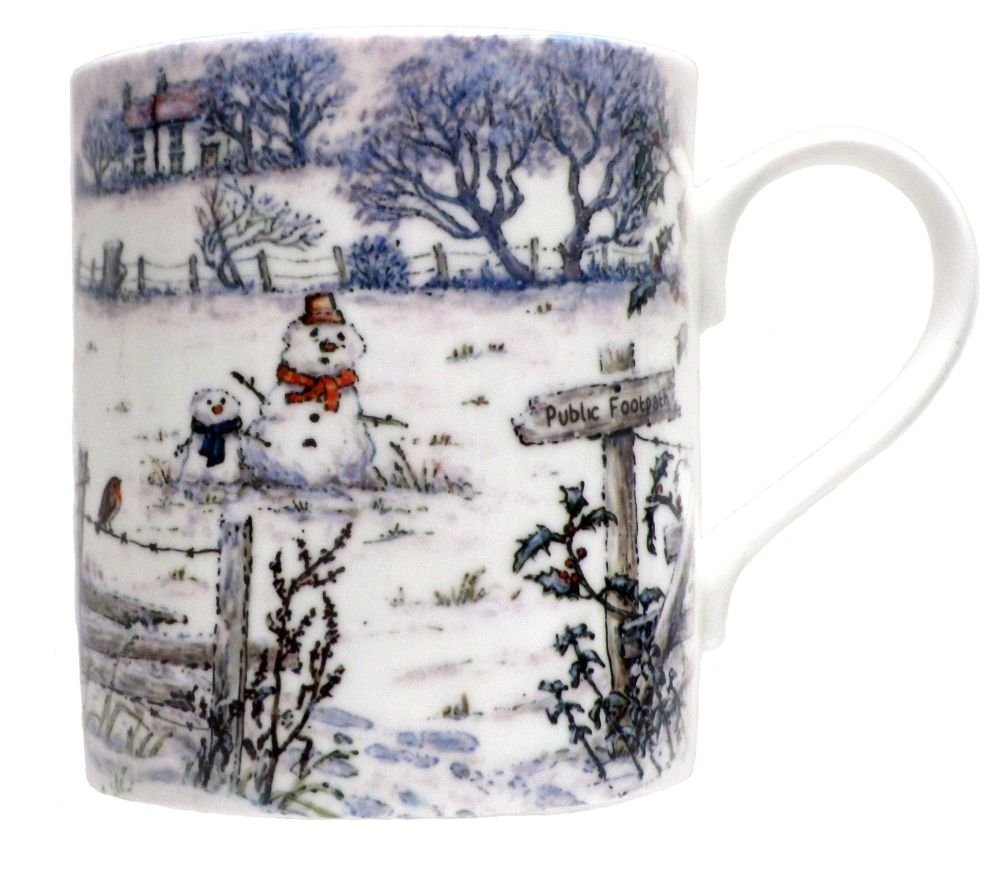 Mug-A Winter Footpath