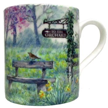 Mugs & Coasters-Spring Orchard