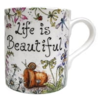 Mugs & Coasters-Life is Beautiful