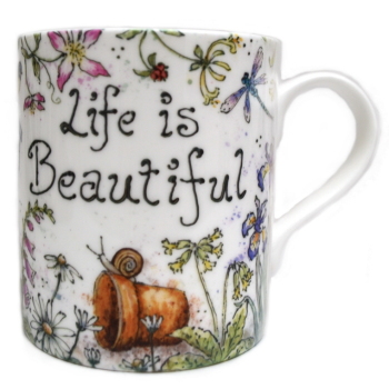 Mugs & Coasters-Life is Beautiful