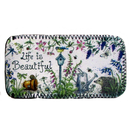 Glasses Case - Life is Beautiful