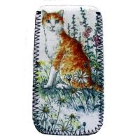 Glasses Case - Ginger Cat