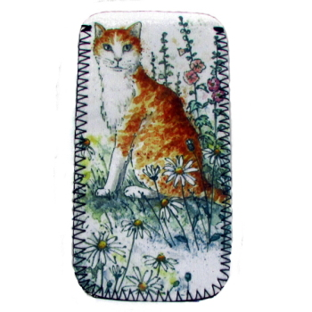 Glasses Case - Ginger Cat