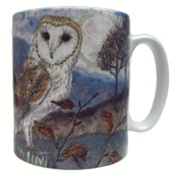 Mugs & Coasters-Barn Owl