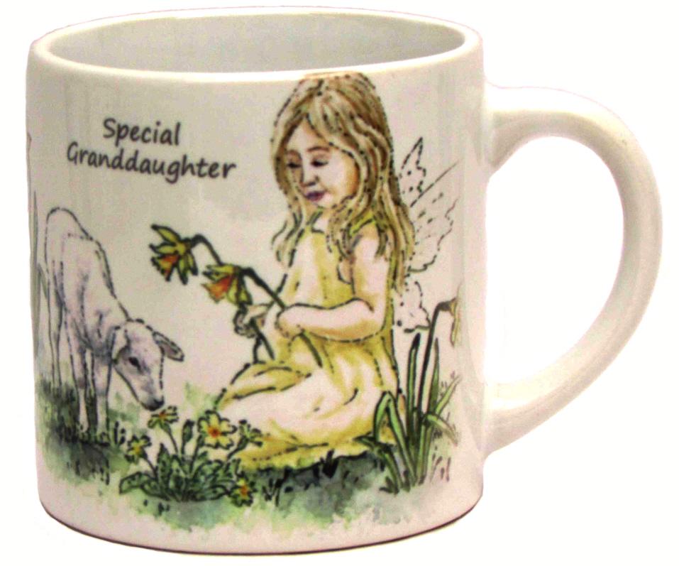 Childs Mug-Spring Fairy- Yellow