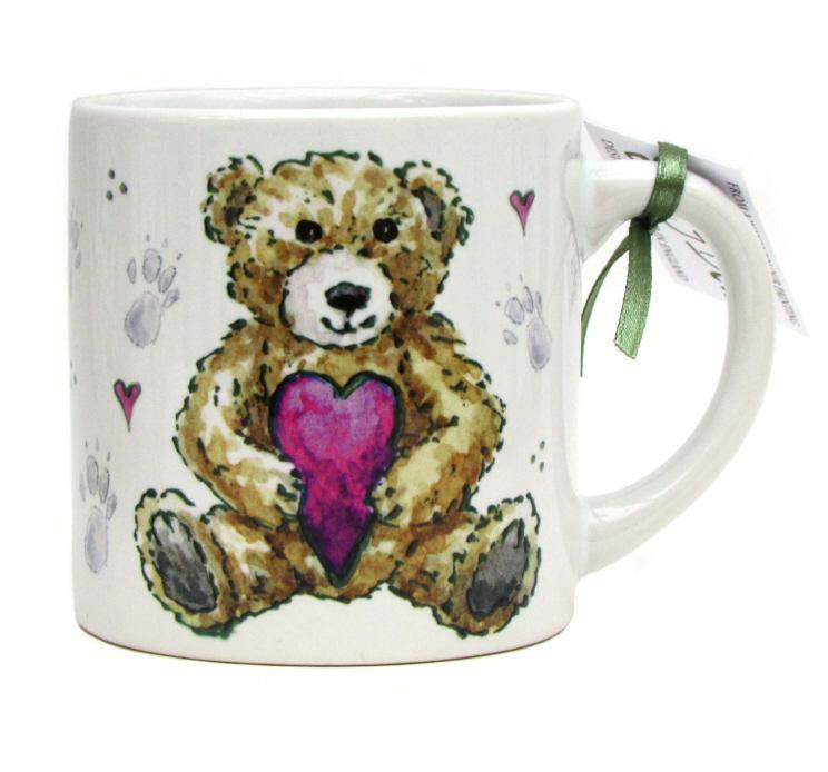Childs Mug-Girl Teddy
