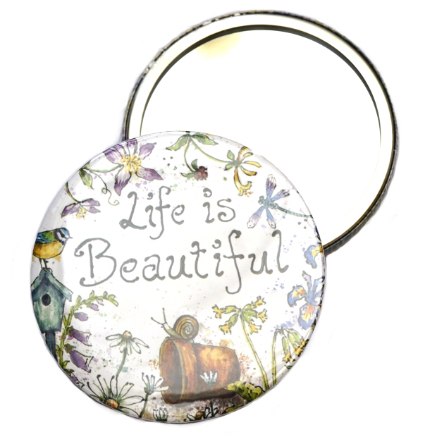 Pocket Mirror - Watering Can