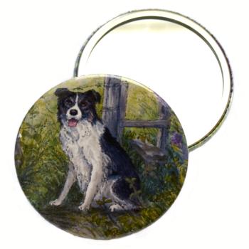 Pocket Mirror - Dog