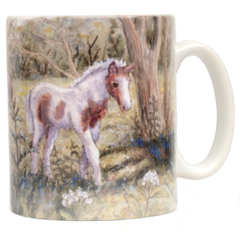 Mug or Coaster-Foals