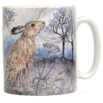 Mug or Coaster-Moon Gazing Hare
