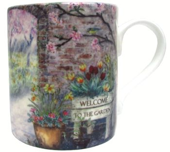 Mugs & Coasters-Walled Garden