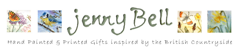 Jenny Bell Ceramics & Gifts, site logo.