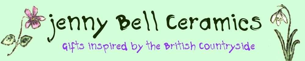 jenny Bell Ceramics & Gifts, site logo.