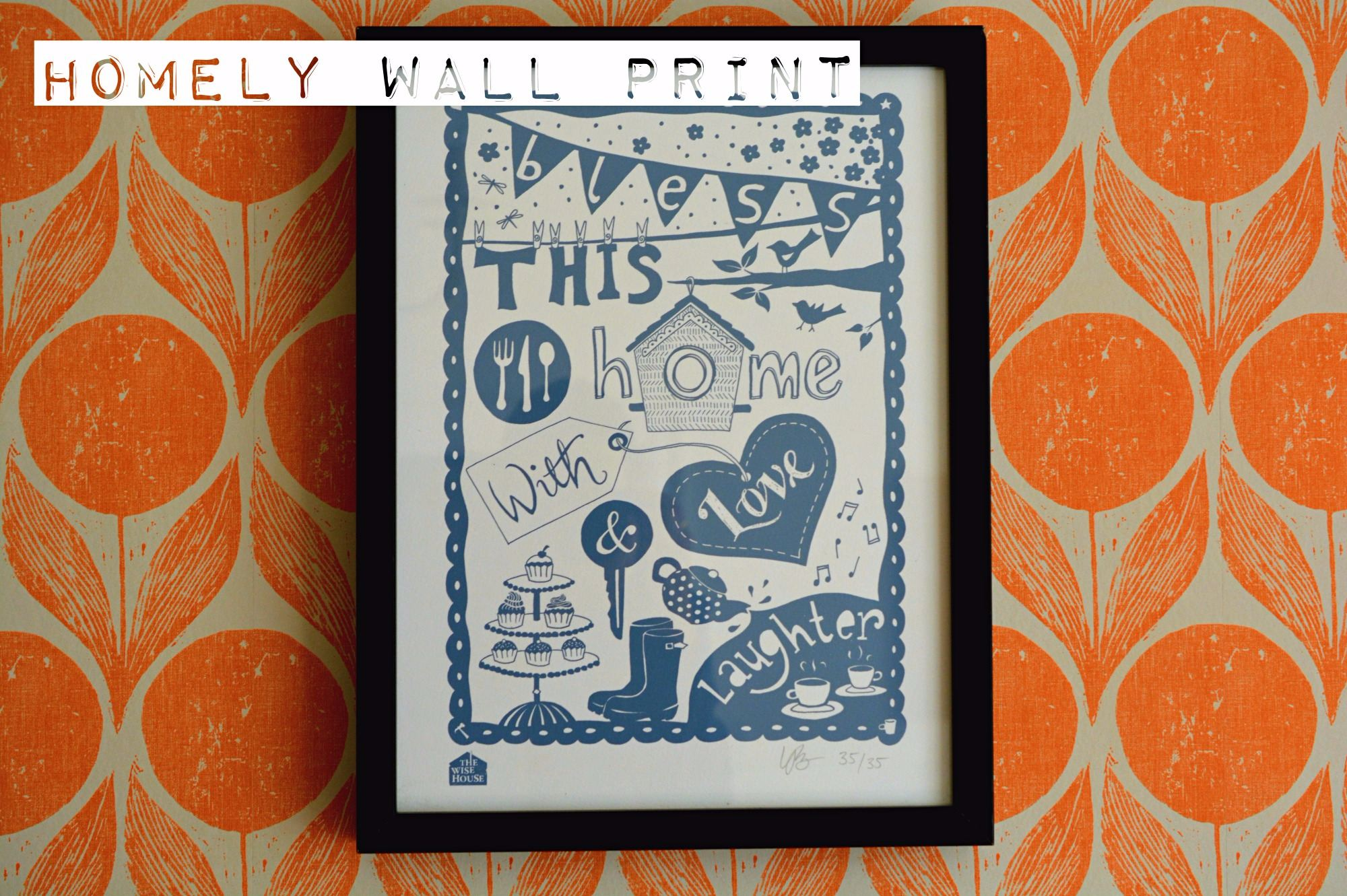 Giclee Wall Print The Wise House