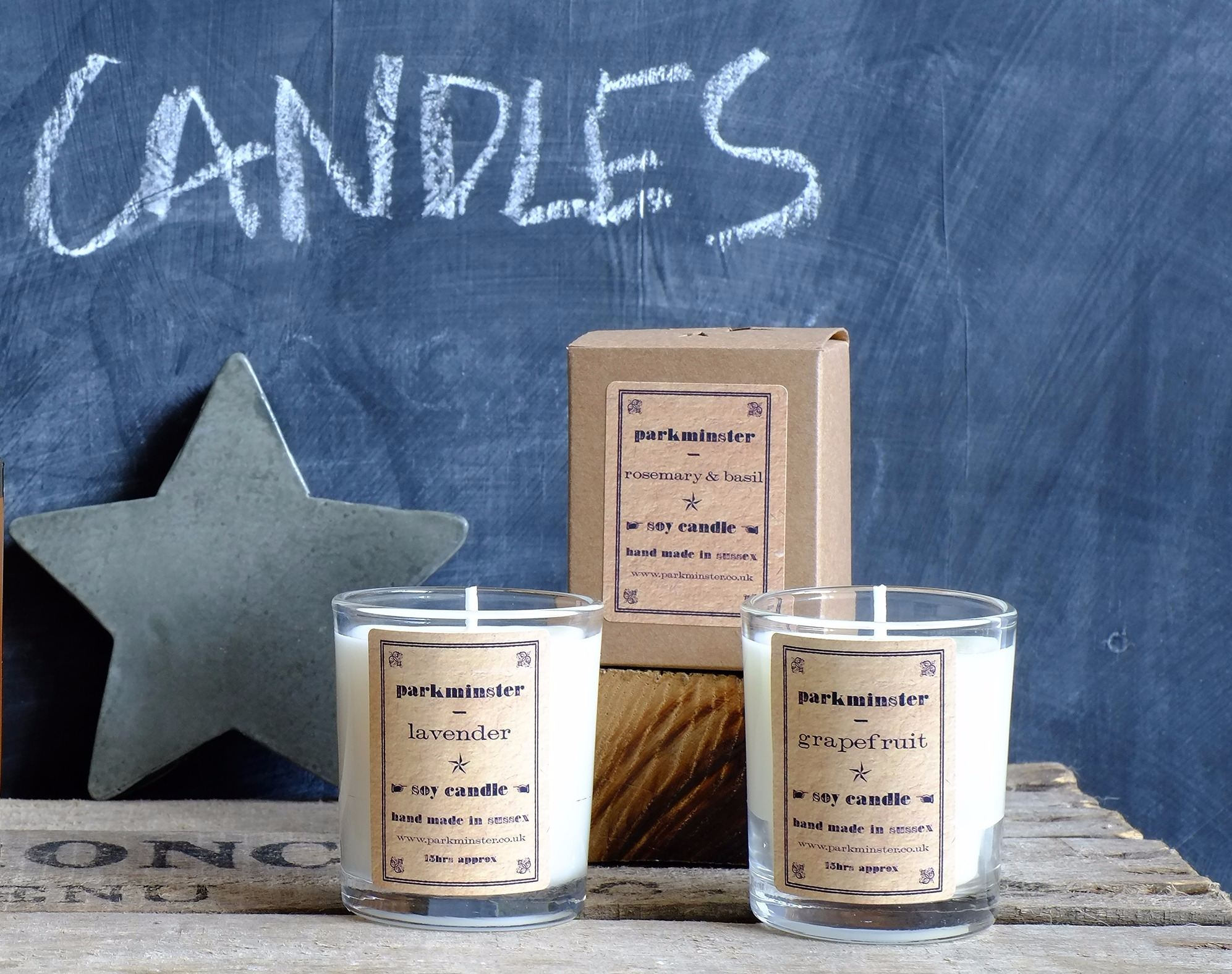 Soy Wax Candle Parkminster