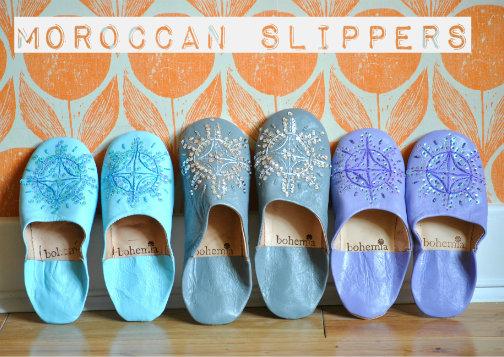 Moroccan Babouche Slippers Bohemia