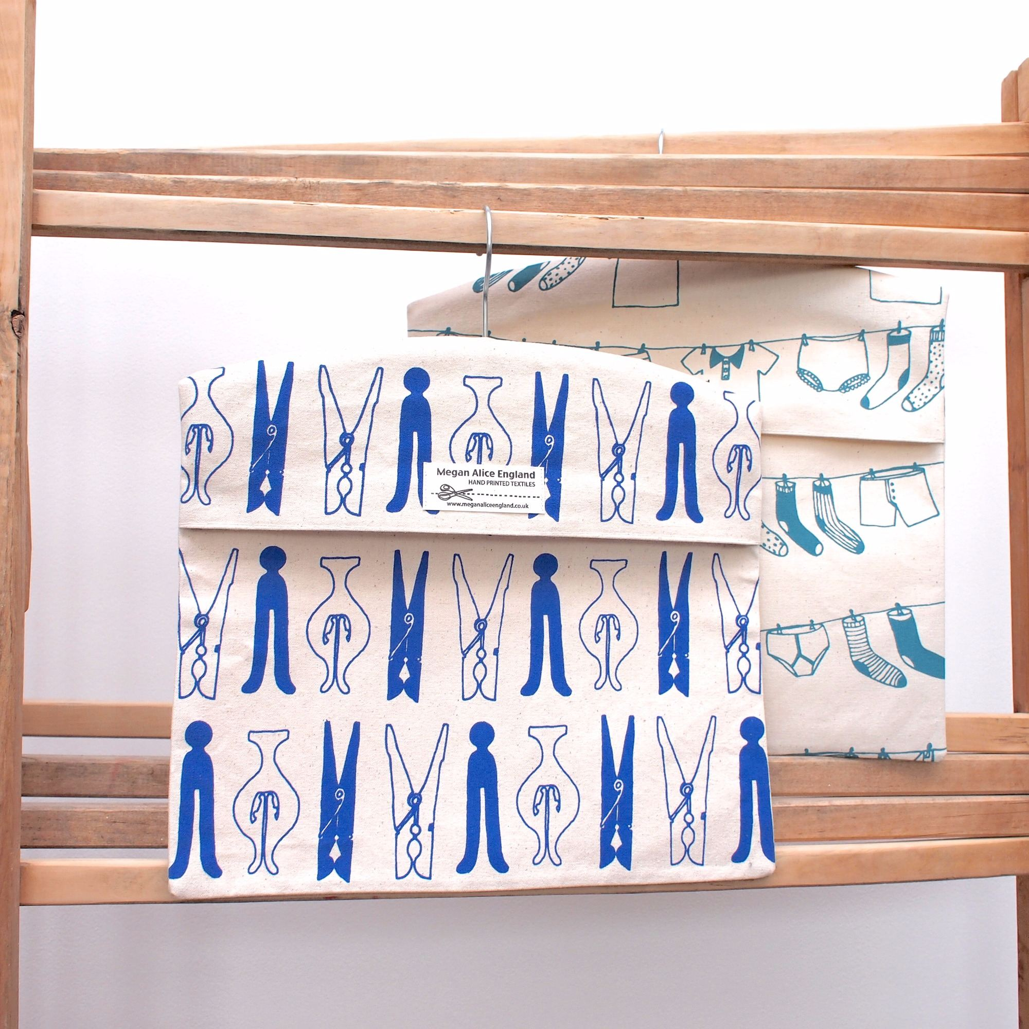 Cotton Peg Bags Made In Britain - The Wise House