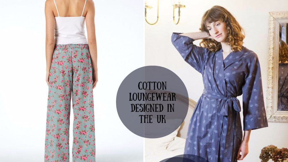 Cotton Kimono Gowns and Pyjama Shorts