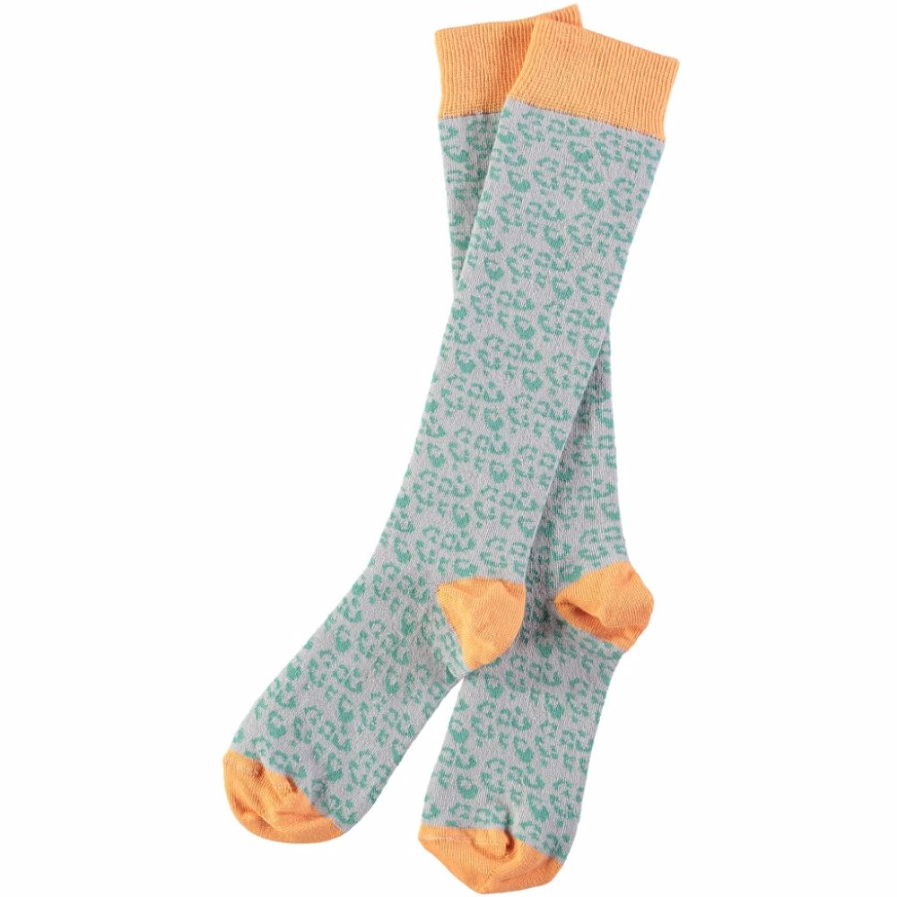 Womens Cotton Knee High Socks