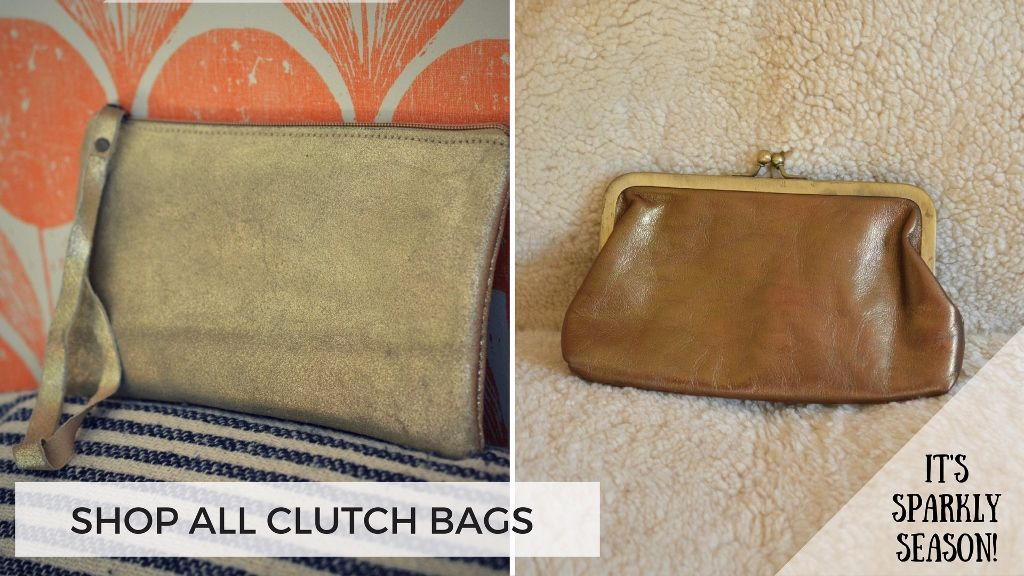 Soft Leather Clutch Purses & Bags