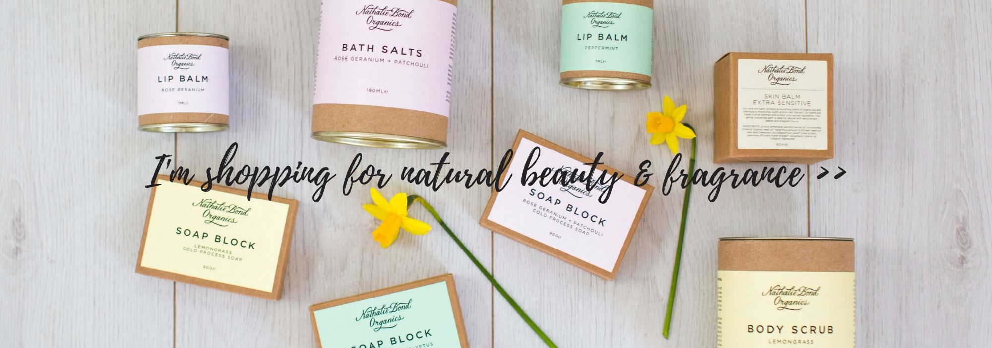Nathalie Bond Organic Beauty Products