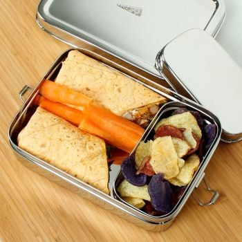 Stainless Steel Lunch Box with Mini Container 700ml - Rampur