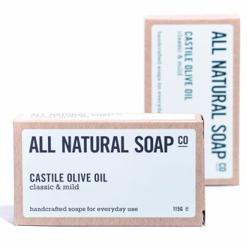 Natural Soap Castille Olive Oil