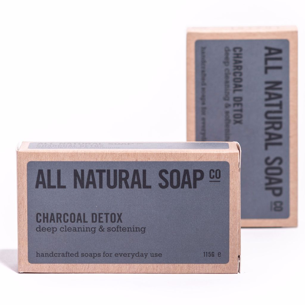 All Natural Soap Co - Charcoal Detox Natural Soap