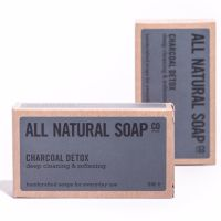 Handmade Natural Soap Charcoal Detox