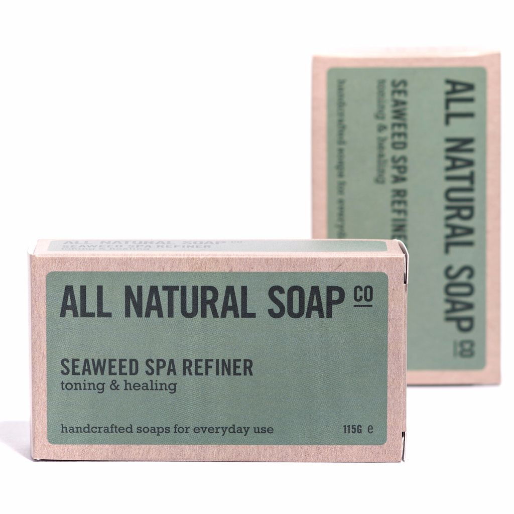 All Natural Soap Co - Seaweed Spa Natural Soap