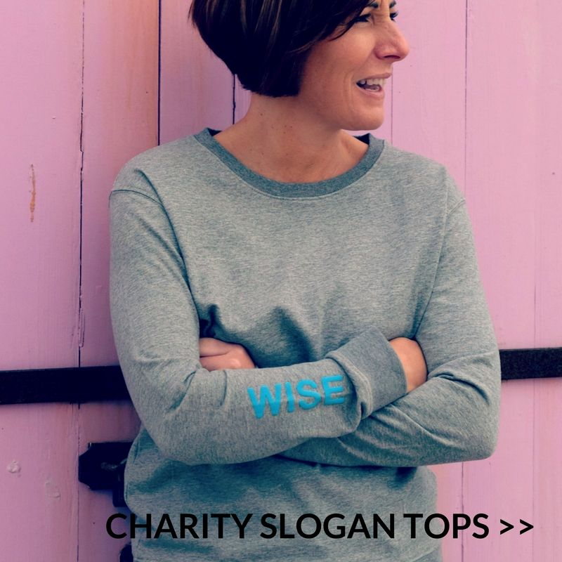 Charity Slogan Tops