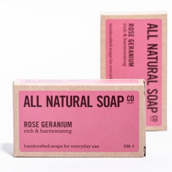 Natural Soap Rose Geranium