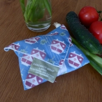 Reusable Cotton Sandwich Wrap - Camper Van