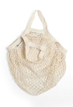 Turtle String Bag Natural Short Handled
