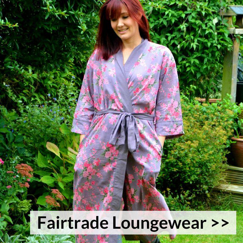 Fairtrade Cotton Kimono Gowns