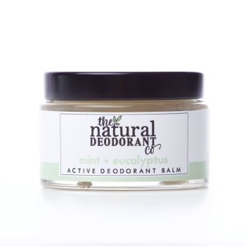 Natural Deodorant Active Mint & Eucalyptus - 20g or 55g