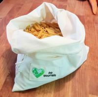 Organic Cotton Produce Bags - Set of Five