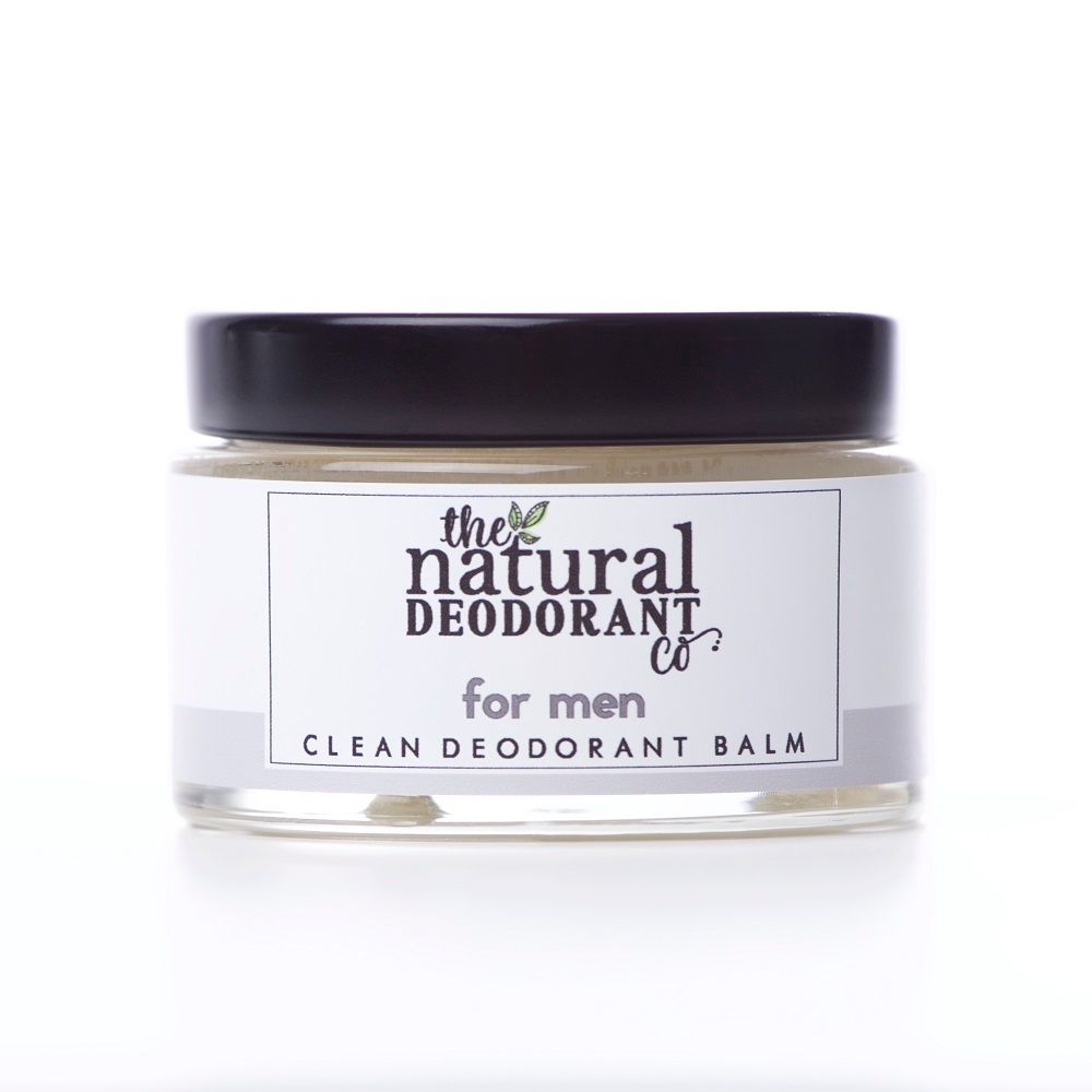 Men's Clean Deodorant Balm 15ml or 60ml