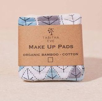 Make-Up Remover Square Pads Leafy - Set of 3 or 5