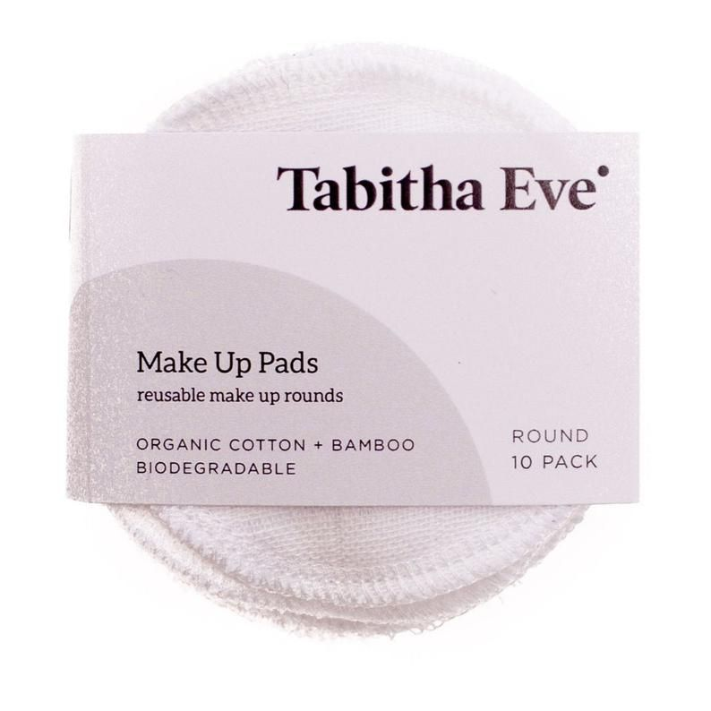 Make-Up Remover Round Pads - Set of 5 or 10