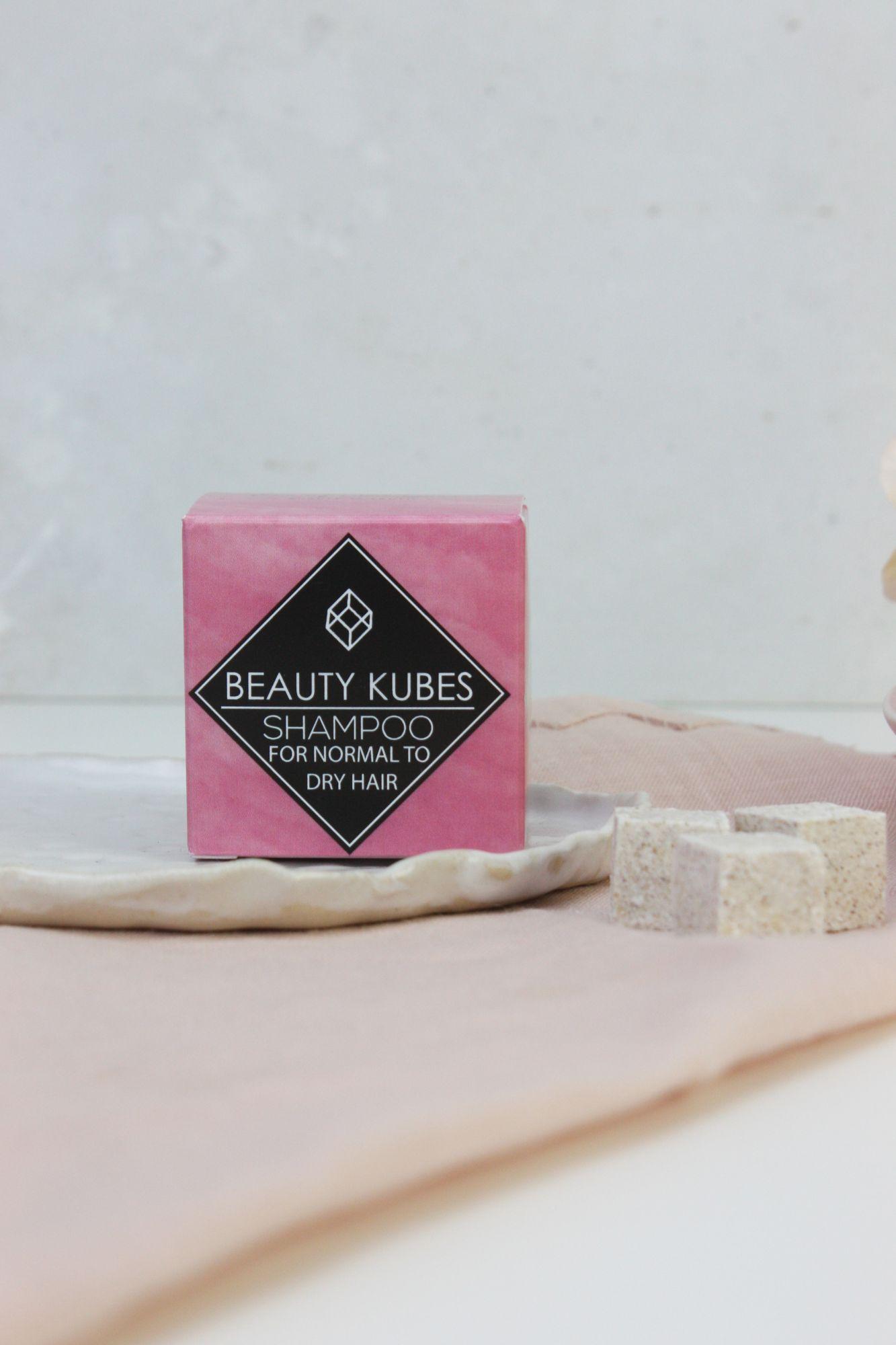 Plastic Free Shampoo Kubes
